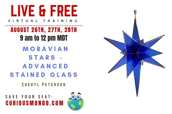 Morovian Stars - Advanced Stained Glass